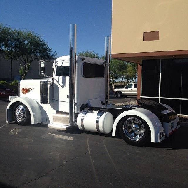Custom Single Axle Trucks : Best peterbilt trucks images on pinterest semi