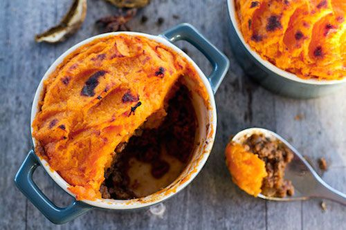 Autumn Dinner - Pumpkin Shepherd's Pie : A dinner meal intended to fill your stomach and add warmth to your soul with its reinvented flavors.