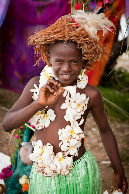 Local child in Luganville,  Santo Island, Vanuatu, South Pacific | South Pacific Stock Photography for license, instant download or high quality print. by Chris Ridley, via Flickr