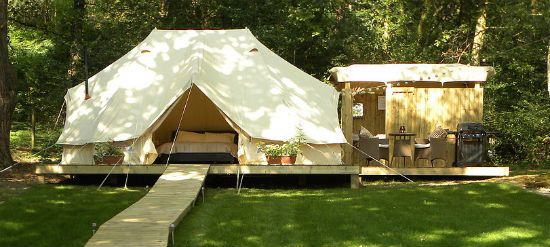 The Glampotel glamping suite in various locations throughout the UK
