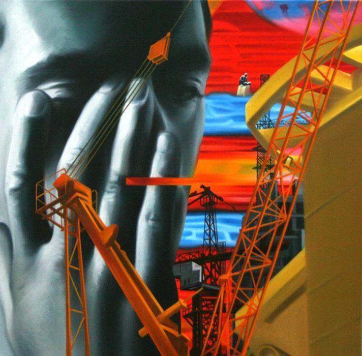 Artville Artist of the Day  Murali Cheeroth Untitled Medium: Oil on Canvas
