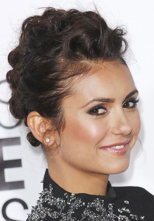 17 Best images about Trend Watch: Windswept Updos on Pinterest : Jessica alba updo, Nina dobrev ...