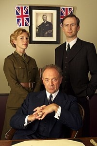 Foyle's War (2002 - 2010) - BBC mini series, created by Anthony Horowitz. Starring Michael Kitchen, Honeysuckle Weeks, and Anthony Howell. Costume Design by Maria Prince and Rosalind Ebbutt