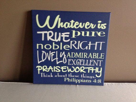 Scripture, Bible Verse Canvas