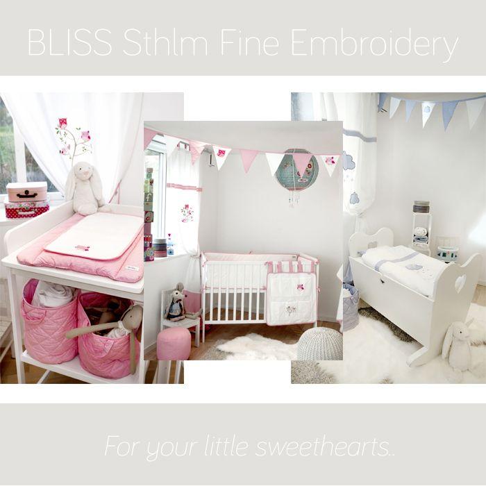 BLISS Sthlm Fine Embroidery - ny kollektion till de små i familjen. | #jollyroom #barnrumsinspo #barnrummet #babyprodukter #blisssthlm