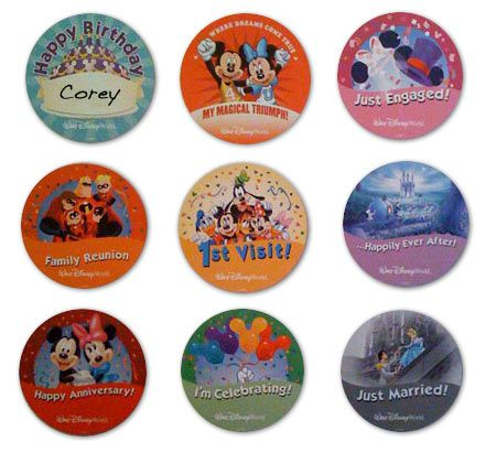 There are 9 different pins you can get for free at Disney!