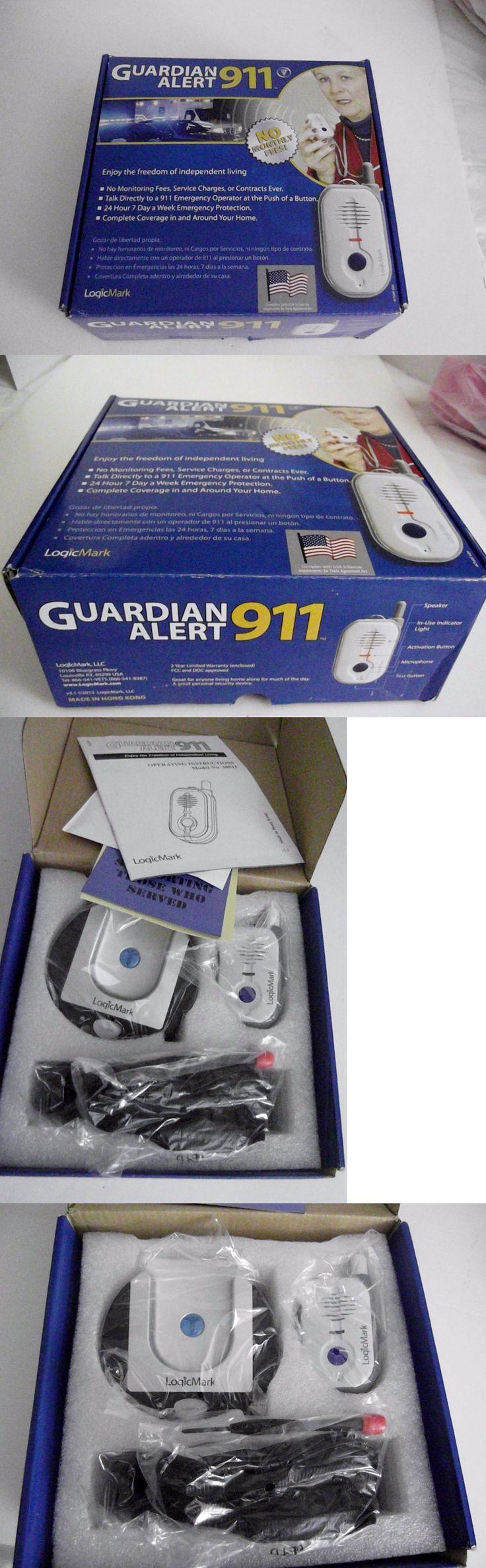 Emergency Alert Systems: Logicmark Guardian Alert 911 Emergency Alert System - No Monthly Fees *New* -> BUY IT NOW ONLY: $79 on eBay!