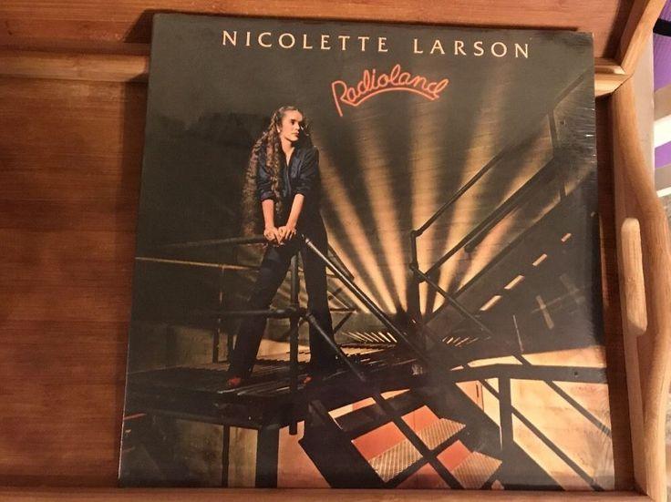 Nicolette Larson Radioland Vinyl Sealed New   | eBay