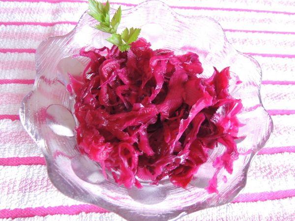 Lilakáposzta saláta ---   Testünkegészségünk.blog.hu