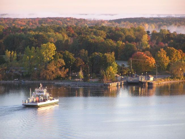 Glenora Ferry In Picton, Ontario. Need to ride thos