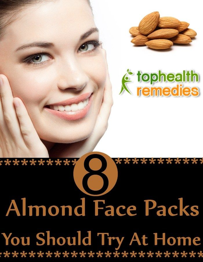 8 Different Almond Face Packs You Should Try At Home