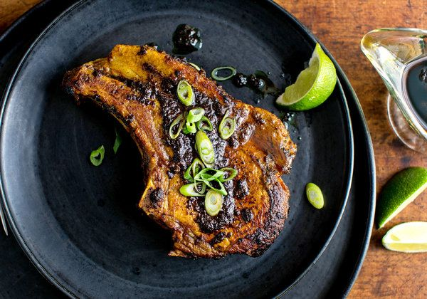 Pork Chops With Tamarind and Ginger Recipe - NYT Cooking