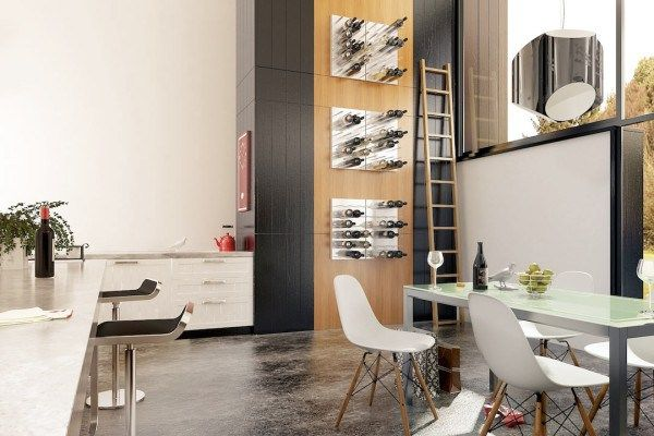 Best designer wine rack systems. via Mecc Interiors  #modular #design #wineracks