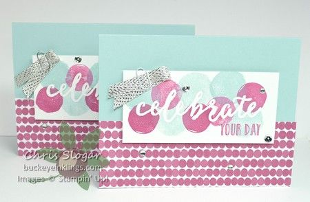 Occasions 2017 Sneak Peek - Happy Celebrations and Celebrations Duo embossing folders, Stampin' Up!