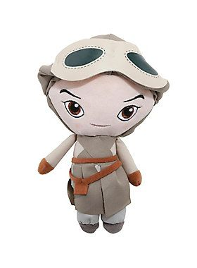 """<div>Rey - tough Jakku scavenger and adorable plush figure. This plush from <i>Star Wars: The Force Awakens</i> really brings out her softer side.</div><div><ul><li style=""""list-style-position: inside !important; list-style-type: disc !important;"""">Approx. 7"""" tall</li><li style=""""list-style-position: inside !important; list-style-type: disc !important;"""">Polyester fibers; plastic pellets</li><li style=""""list-style-position: inside !important; list-style-type: disc !important;"""">Imported</li>..."""