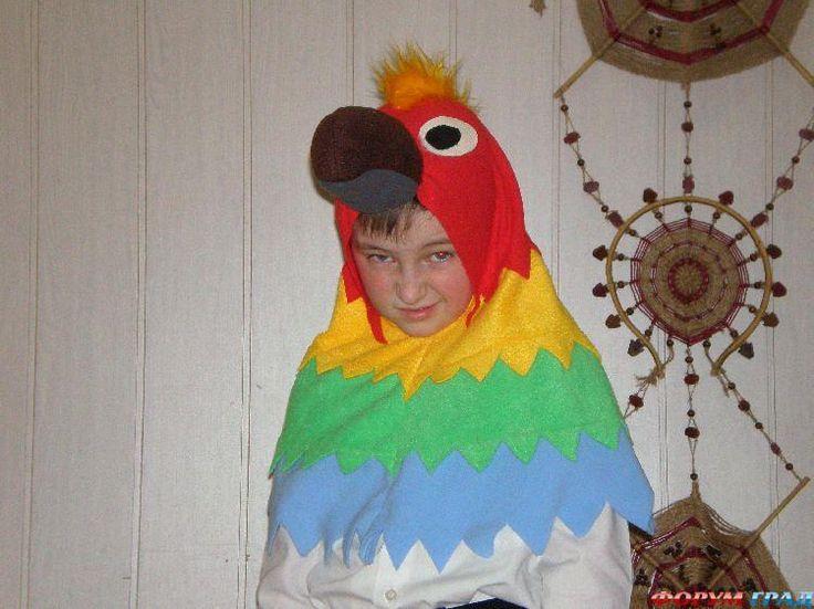 Как сделать костюм попугая