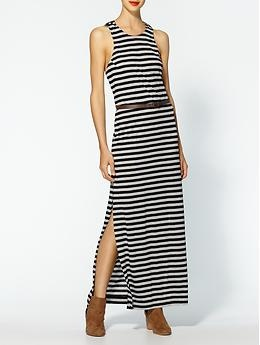 BCBGeneration Stripe Maxi Dress | Piperlime