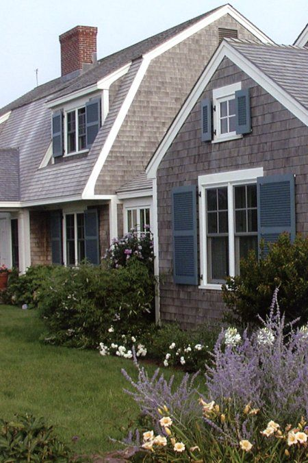 815 best home exteriors images on pinterest house for Cottage exterior siding ideas