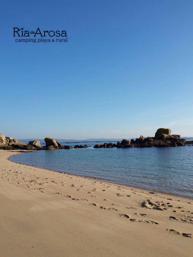 Playa de Cabio en Invierno