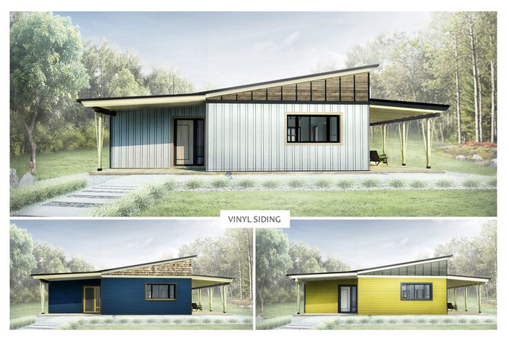 Modern Style House Plan - 2 Beds 1 Baths 850 Sq/Ft Plan #924-3 Exterior - Other Elevation - Houseplans.com