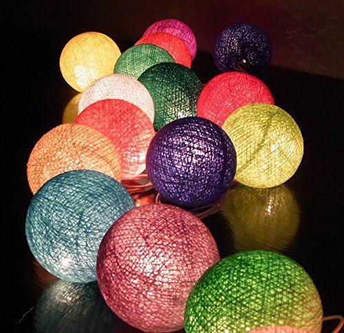 20/Set Bola de Algodón Luz de la Secuencia de Color de la... https://www.amazon.es/dp/B00Q2Q52LS/ref=cm_sw_r_pi_dp_x_P52IybVXPYDDQ