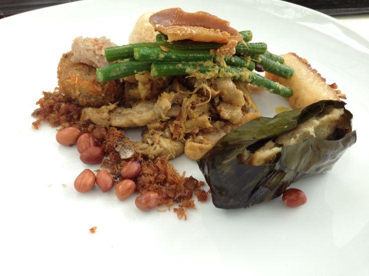 Babi Guling (Suckling Pig). Best ever in Merah Putih restaurant in Bali, Indonesia