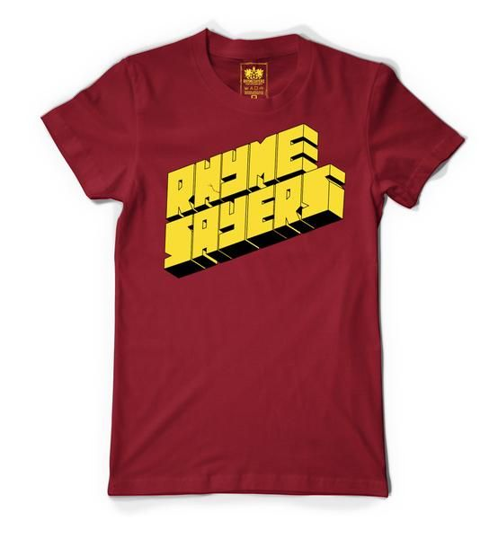 "Rhymesayers ""Super Hero Series"" Red/Yellow Shirt 