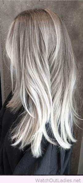 hair white blonde highlights 64 new ideas haar in 2019. Black Bedroom Furniture Sets. Home Design Ideas