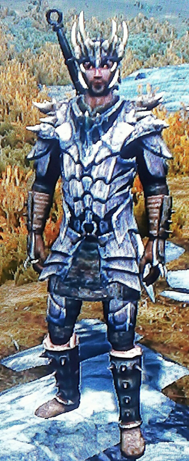"""""""Horny"""" By Greg Jagged Crown  Dragonscale Armor  Stormcloak Officer Bracers Stormcloak Officer Boots"""
