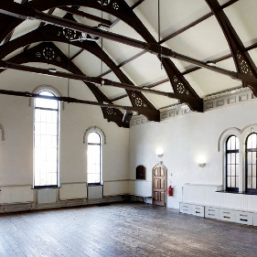The Old School Rooms at the Round Chapel | 2 Powerscroft Rd, Hackney, London, England, E5 0PU For Hire