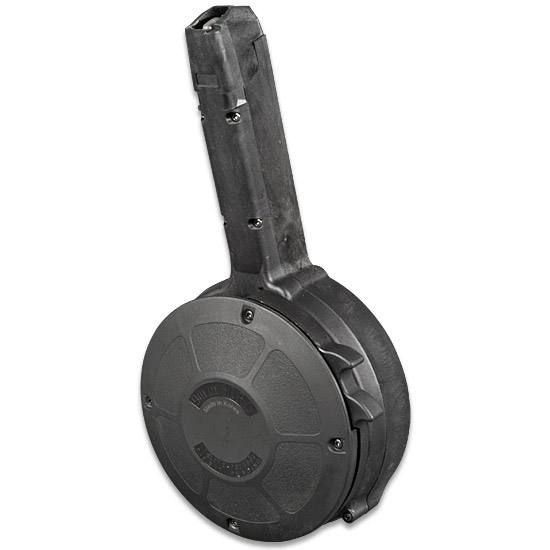 Mag GLOCK 9mm 50 round drum magazine.