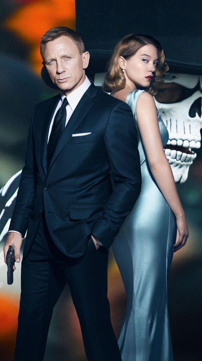 Spectre 2015 Phone Wallpaper Moviemania Best Bond Girls Sean Connery James Bond Daniel Craig James Bond