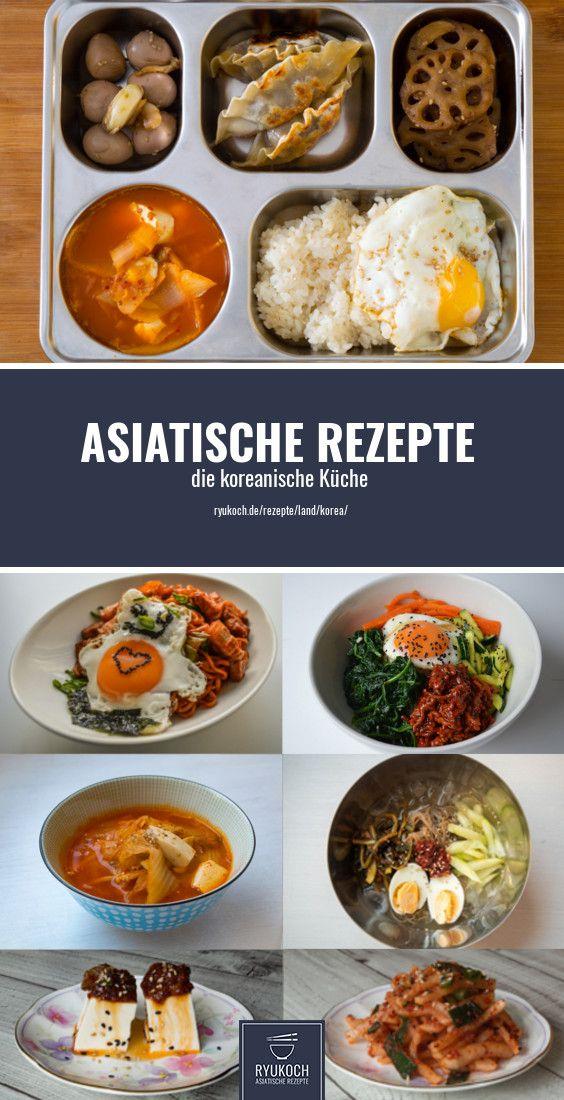 Schnelle asiatische Rezepte.  koreanische Rezepte und Gerichte Vorstellung