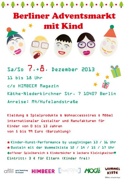 A special advents market in Berlin for families