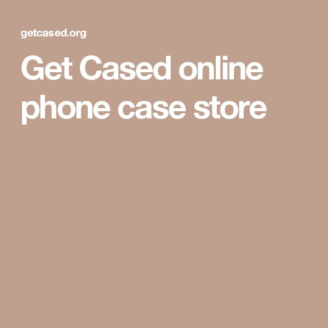 Get Cased online phone case store