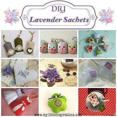 9 DIY lavender sachets tutorials - My Little inspirations