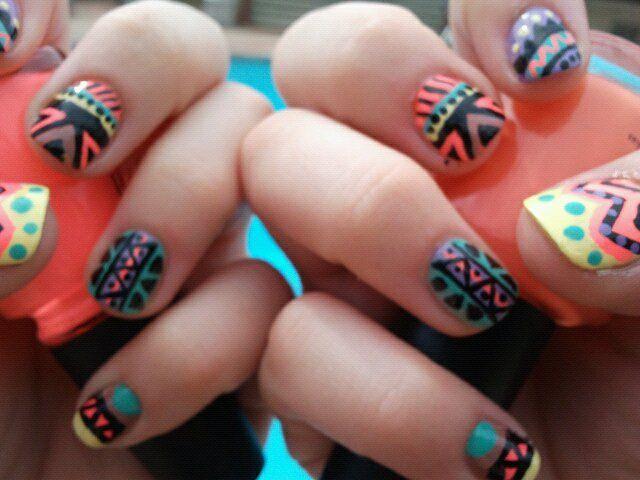 98 best CASSIDY\'S NAIL ART images on Pinterest | Nail art, Nail ...