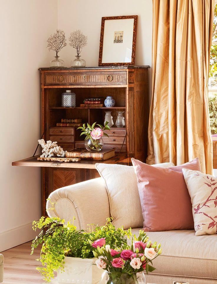 M s de 25 ideas incre bles sobre salas rusticas en for Bandejas decoracion salon