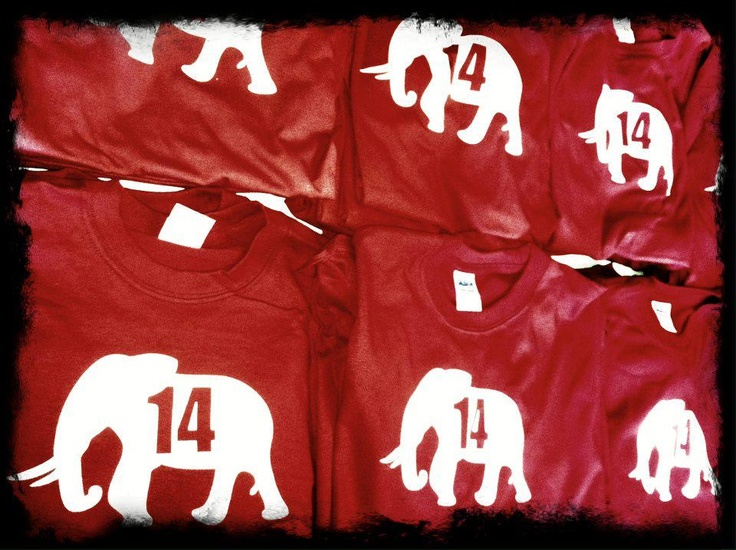 They ARE HERE! Textured Elephant T SHIRTS! Sealy On Campus Is THE ONLY.  Football ClothingTuscaloosa AlabamaAlabama ...