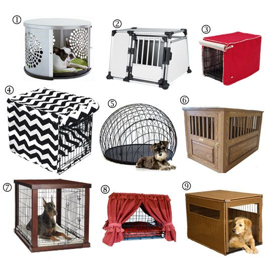 Raise the Woof: Stylish Modern Dog Crates for Small Spaces