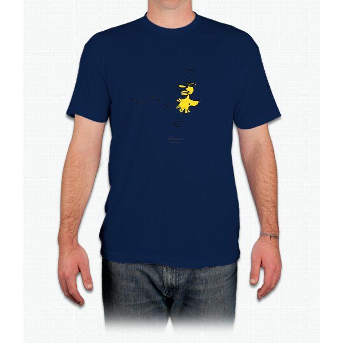 Peanuts - Snoopy - Woodstock Charlie Brown - Men T-Shirt