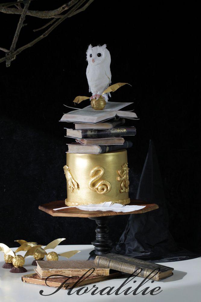 die besten 25 harry potter torte ideen auf pinterest. Black Bedroom Furniture Sets. Home Design Ideas
