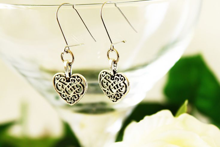 Surprise your love with a beautiful metal lace earrings for Valentine's day. This metal lace earrings you can find here: https://www.etsy.com/listing/581950709/jewelry-handmade-metal-jewelry-bohemian?ref=shop_home_active_12