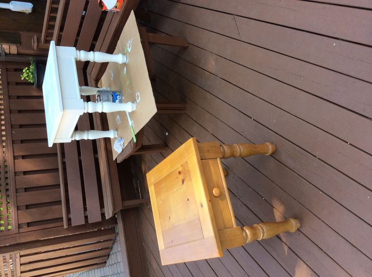 Before And After I Painted The Coffee And End Tables Home Furniture Projects Pinterest