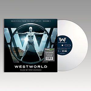 Westworld: Season 1 - Exclusive Milk White LP   ThinkGeek