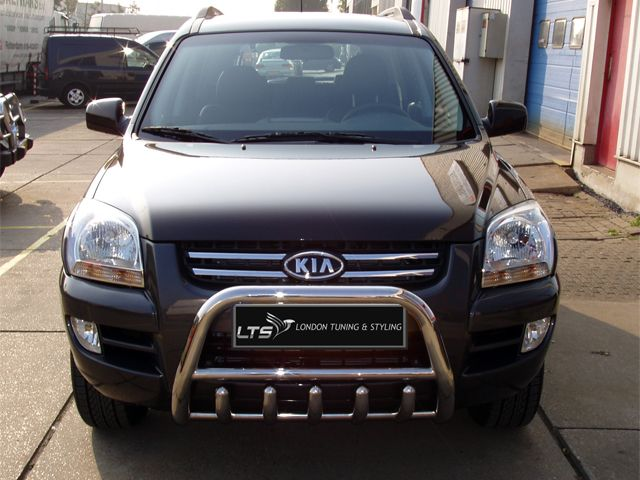 Kia Bull Bars | London Tuning and Styling Ltd | Our bull bars are made of 304 quality stainless steel material. Lifetime of stainless steel is guaranteed.