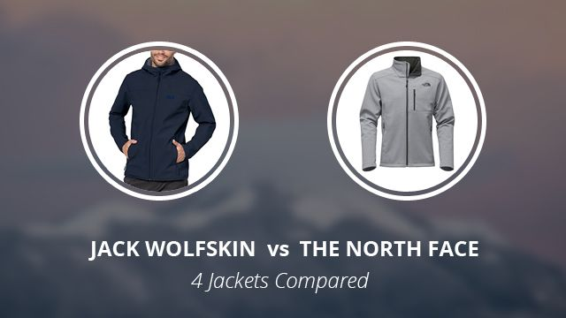 new style order latest design Jack Wolfskin vs The North Face: 4 Jackets Compared | Sport ...