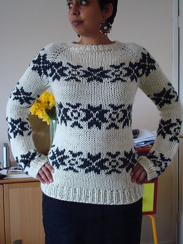 Ravelry: sunshinewheels' Sarah Lund jumper from the Killing