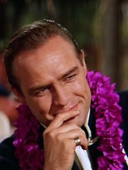 "Marlon Brando in ""Mutiny on the Bounty"" (1962)"