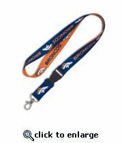 Denver Broncos Lanyard with Buckle|NFL Broncos Lanyard > Secure Shopping!